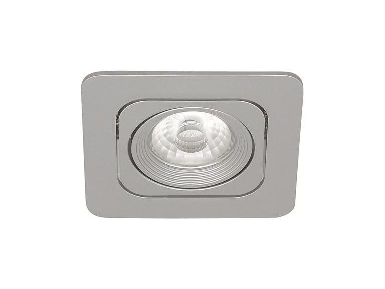 Downlight MD-125, LED, 6W, Silver, IP21