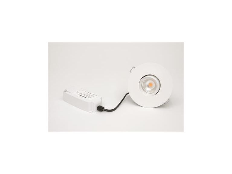 Downlight  MD-151, 8W, 230V, Vit, IP44