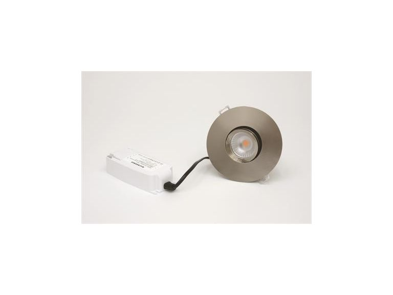 Downlight  MD-151, 8W, 230V, Satin, IP44