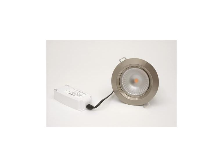 Downlight  MD-152, 13W, 230V, Satin, IP44