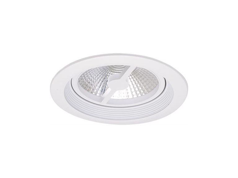 Downlight MD-157, LED, 10W, Vit, IP21