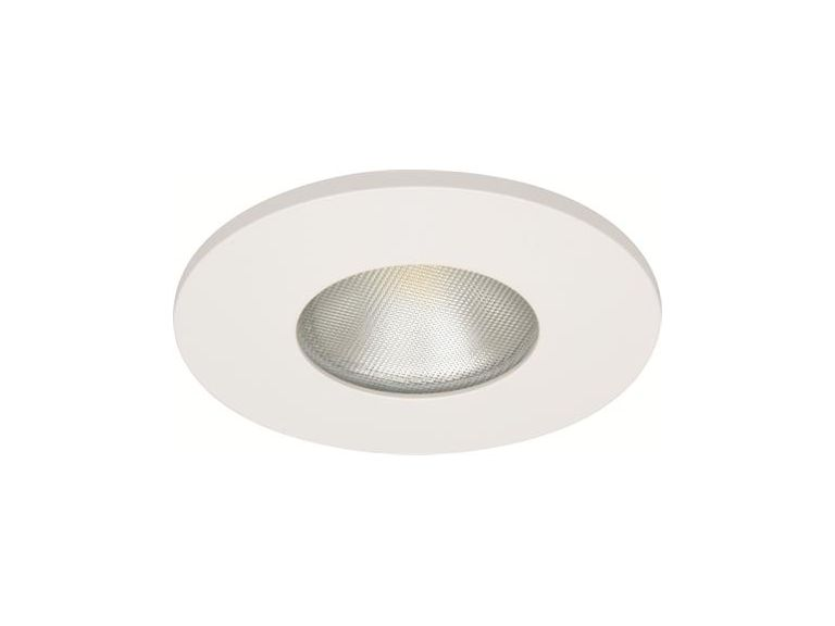 Downlight MD-315,LED, 3W, Vit, Matt, IP44/IP21