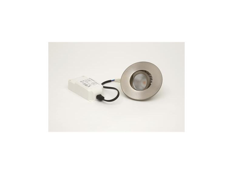 Downlight MD-350, LED, 7W, Satin, 230V, IP44