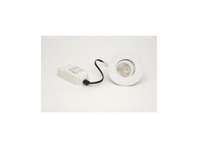 Downlight MD-350, LED, 7W, Matt vit, 230V, IP44