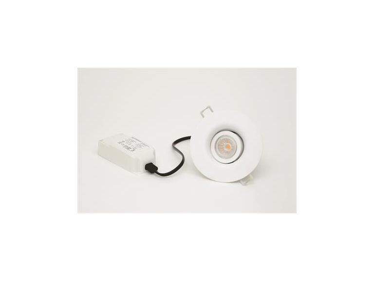 Downlight MD-550, LED, 7,5W, 230V, Vit, IP21