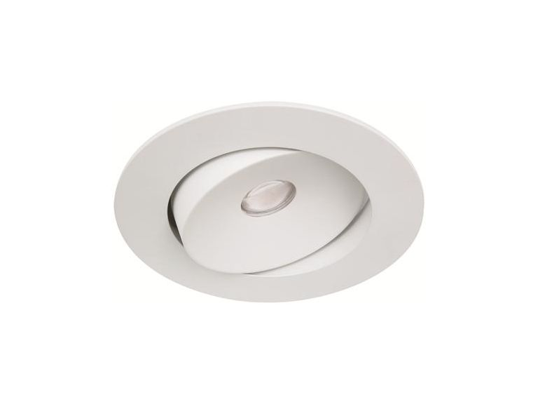 Downlight MD-96, LED, 10W, Vit, 38°, IP21