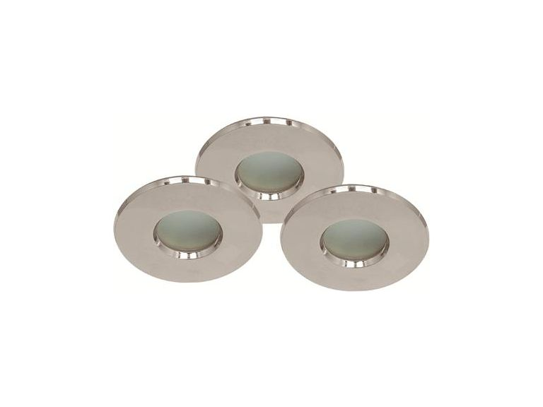 Downlightset, 12V, MD-54S, Satin/Silver, IP44