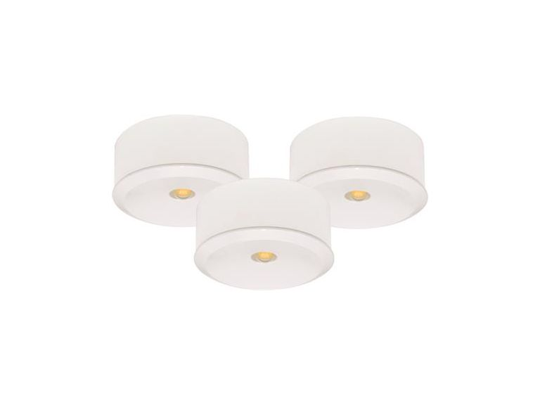 Downlightset MD-120, LED, 230V, Vit, IP21