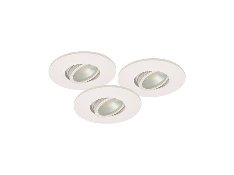 Downlightset MD-350, LED, 230V, Vit, IP44