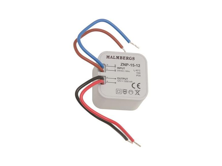 LED-driver, Malmbergs, 15W