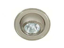Downlight MD-87, Satin/silver, 12V, 20W, GU4, IP21